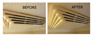Bathroom Exhaust Fan Before / After