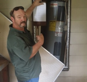 Osceola Water Heater Inspection